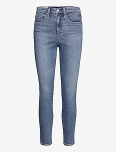 High Rise True Skinny Jeans with Secret Smoothing Pockets - skinny jeans - medium indigo 20