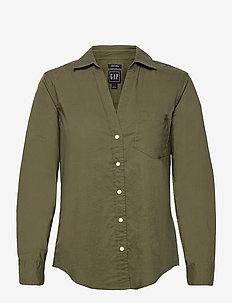 Perfect Shirt - langærmede skjorter - desert cactus