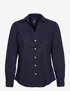 Perfect Shirt - langærmede skjorter - navy uniform