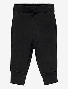 Toddler 100% Organic Cotton Mix and Match Pull-On Pants - trousers - true black