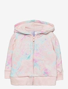 Toddler Tie-Dye Gap Logo Hoodie - hoodies - pink tie dye