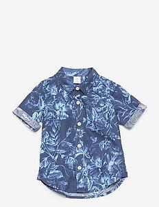 Toddler Linen Shirt - shirts - blue shade