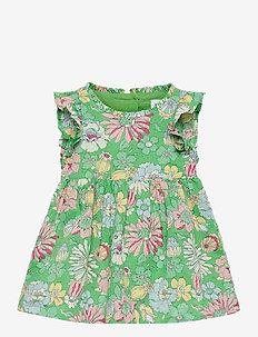 Baby Floral Dress - kleider - carmel green