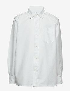 Kids Uniform Oxford Long Sleeve Shirt - chemises - white 2