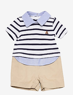 INTL 3N1 SHRTY - short-sleeved - blue stripe
