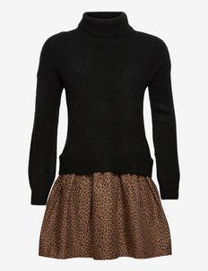 S2W LEO DRESS - kleider - leopard print