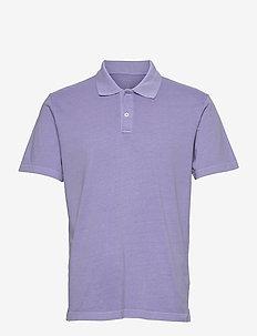 Organic Cotton Polo Shirt - polos à manches courtes - aurora purple 433-230