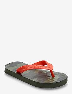 Kids Camo Flip Flops - flip flops & watershoes - camo