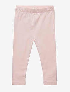 Toddler Leggings In Stretch Jersey - leggings - icy pink