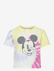 GapKids | Disney Mickey Mouse Flash Tie-Dye T-Shirt - kortærmede - rainbow tie dye