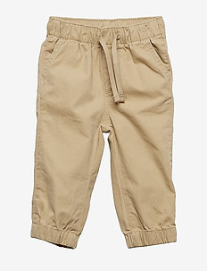 Toddler Pull-On Canvas Joggers - CARGO KHAKI