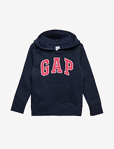 Kids Gap Logo Hoodie Sweatshirt - BLUE GALAXY