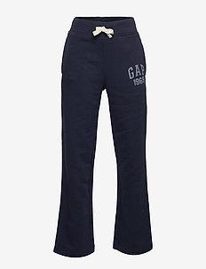 Kids Gap Logo Pants in Fleece - joggings - blue galaxy