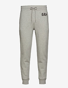 Logo Fleece Joggers - LIGHT HEATHER GREY