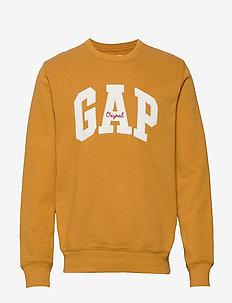 Gap Logo Fleece Crewneck Sweatshirt - DESERT SUNSET