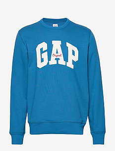 Gap Logo Fleece Crewneck Sweatshirt - sweatshirts - winter night