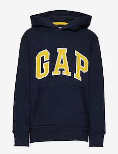 Kids Gap Logo Hoodie Sweatshirt - BLUE GALAXY