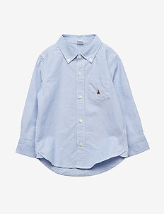 Toddler Oxford Button-Down Shirt - BLUE OPAL 420