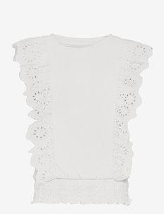 Kids Eyelet Shirt - shirts - new off white