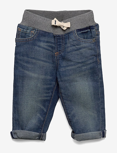 Toddler Pull-On Slim Jeans with Washwell™ - jeans - medium wash