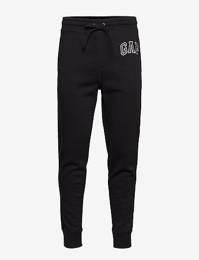 Gap Logo Joggers - vêtements - true black v2 2