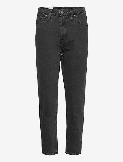 Sky High Rise Mom Jeans - mom jeans - black rinse