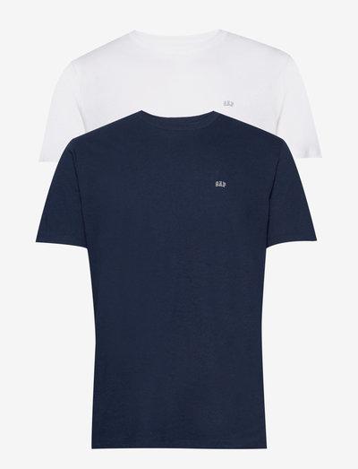V-2 PACK SS EVD CREW - basic t-shirts - navy combo