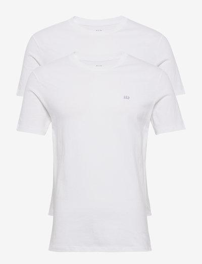 V-2 PACK SS EVD CREW - basic t-shirts - optic white