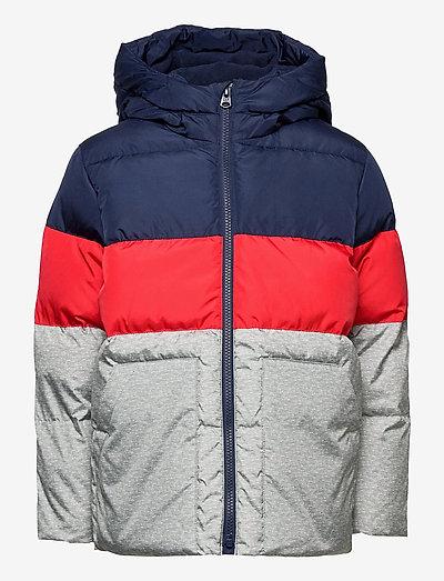CHN WRMST JKT - veste rembourrée - blue color block