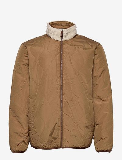 Reversible Fleece Jacket - mid layer jackets - organic white