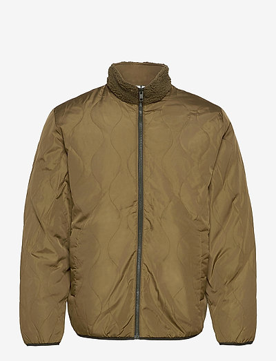 Reversible Fleece Jacket - mid layer jackets - ripe olive