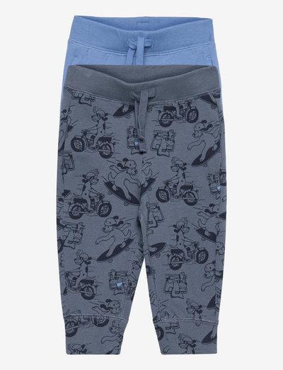Toddler 100% Organic Cotton Mix and Match Pull-On Pants (2- - jogginghosen - dog 082
