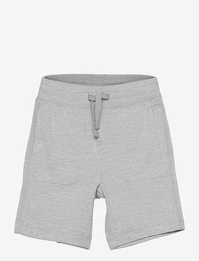 Toddler 100% Organic Cotton Mix and Match Pull-On Shorts - shorts - light heather grey