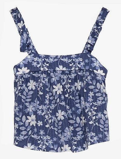 Toddler Floral Top - bluser & tunikaer - blue floral