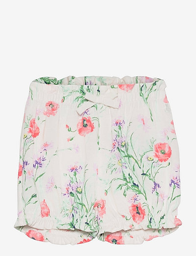 Baby 100% Organic Cotton Mix and Match Print Pull-On Shorts - shorts - light pink floral