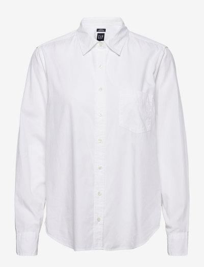 PERFECT SHIRT - jeansskjortor - optic white