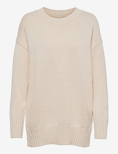 CTTN RELAXED TUNIC CREW - tröjor - slick rock