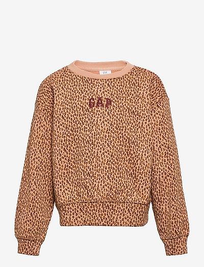 LOGO CREW - sweatshirts - winter ochre