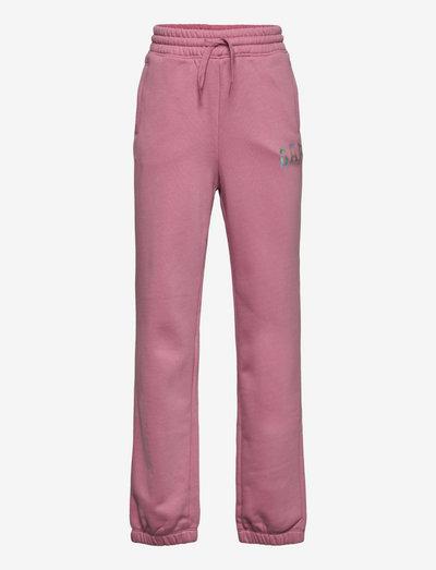 LOGO FLC JOGGER - joggingbroek - polignac pink 16-1712t