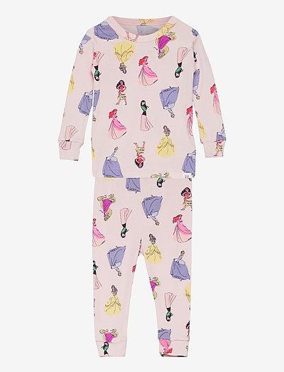 babyGap   Disney Princess 100% Organic Cotton PJ Set - pyjamas - spring pink
