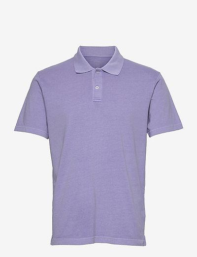 Organic Cotton Polo Shirt - poloshirts - aurora purple 433-230
