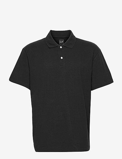 Organic Cotton Polo Shirt - poloshirts - moonless night