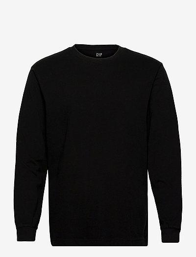 Relaxed T-Shirt - basic t-shirts - true black