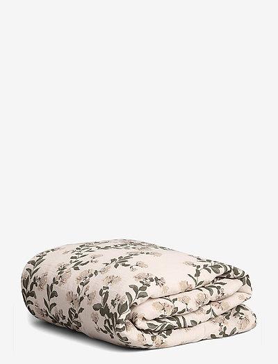 Muslin Filled Blanket - blankets - honeysuckle