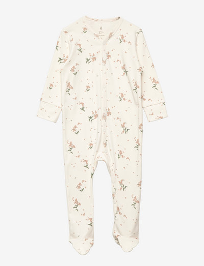 Overall 3-6 M - long-sleeved - forget me not