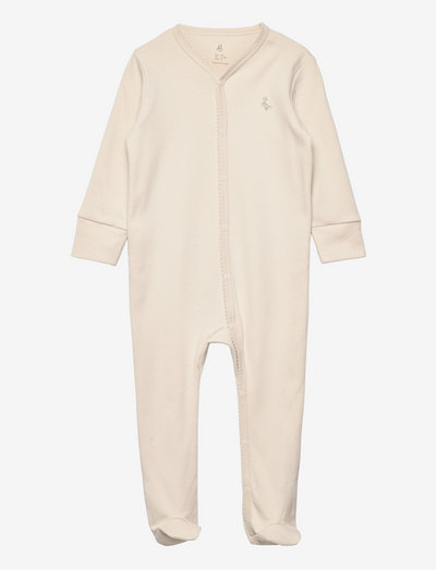Overall 3-6 M - long-sleeved - sand