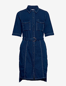 ladies dress - jeanskleider - dark used