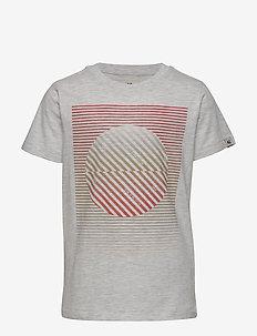 boys T-shirt ss - WHITE MELEE