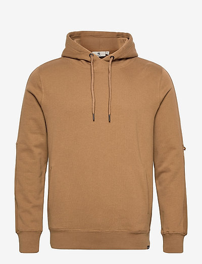 H11264_men`s sweat - hoodies - burnt caramel