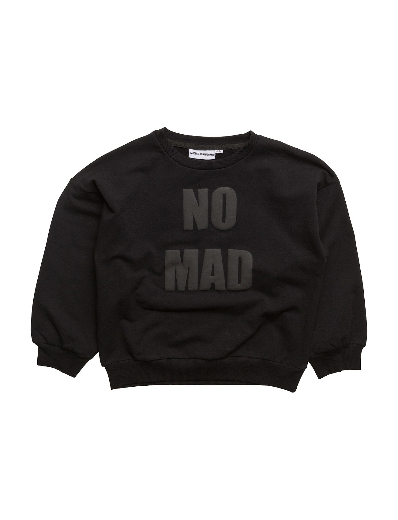 Gardner & the Gang THE SWEAT SHIRT WITH BALLON SLEEVES NOMAD BLACK